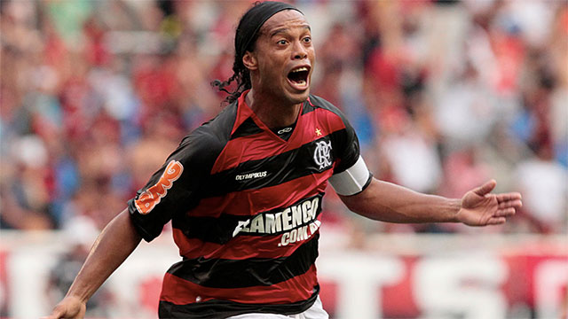 When Brazilian footballer Ronaldinho was just 13 he scored every single goal in a game that his team won 23-0. This was the first time he started to gain media attention