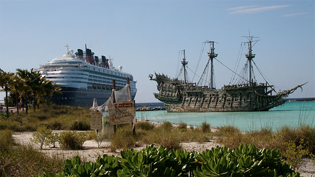 Disney once built a $30 million resort in the Bahamas but had to abandon it because their cruise ships couldn't dock close enough to land. It was poor planning on Disney's part.