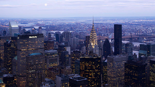 The population density of Manhattan is actually lower than it was a century ago and total population has actually gone down by nearly 25%