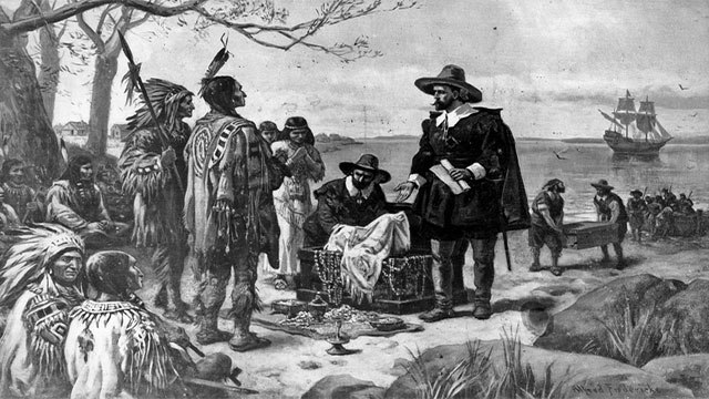 In 1626, the Dutch purchased Manhattan island from the Native Americans for just over one thousand 2014 USD