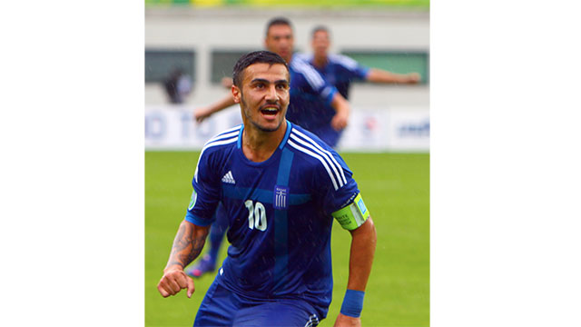 Greek soccer player Giorgos Katidis was banned from Greek football for life after unwittingly giving a Nazi salute after scoring a goal
