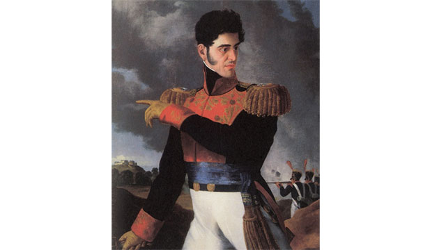 Mexican General Santa Anna's leg was stolen by the 4th Infantry and is now on display in the Illinois State Military Museum. Although Mexico has requested its return, the museum refuses