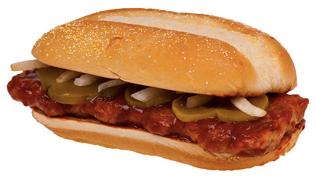 McRibs were actually introduced during a time that McDonalds was running low on chicken