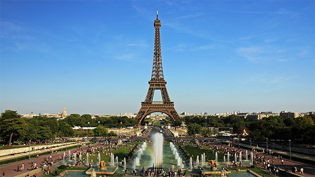 The famous French writer, Guy de Maupassant, would always eat his lunch directly beneath the Eiffel Tower. Because he hated the tower so much, this was the only place he could eat without having to look at it.