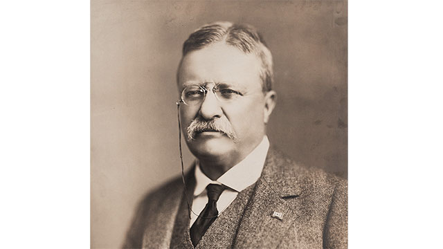 President Theodore Roosevelt went blind in one eye from a boxing injury while he was still serving as president
