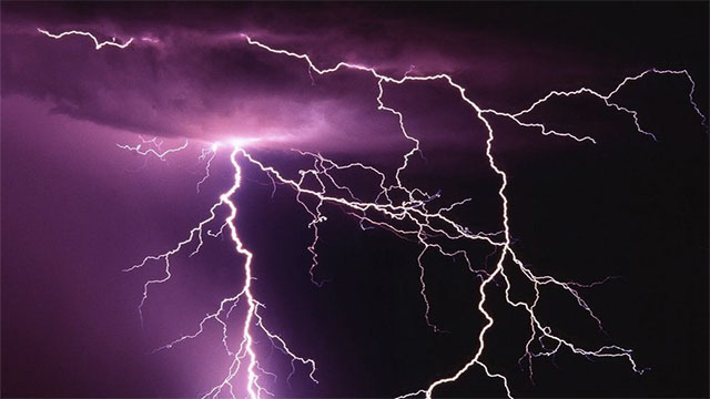 During a football match in the Democratic Republic of the Congo, lightning struck and killed all 11 players of one team while leaving the other team unhurt