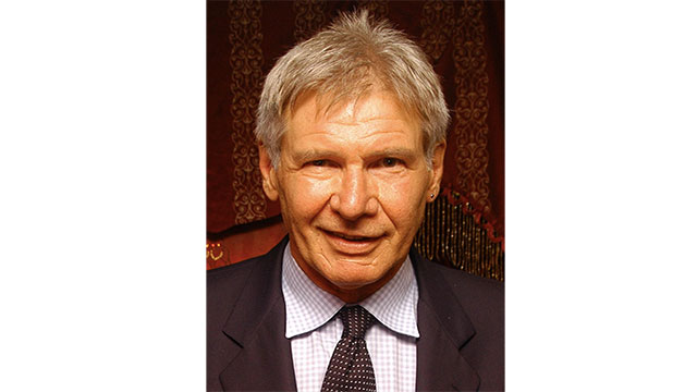 Because of his work as a conservationist, there is an ant species named after Harrison Ford. It is called Pheidole harrisonfordi.