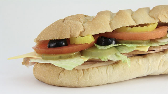On any given day, roughly half of the US population will eat a sandwich