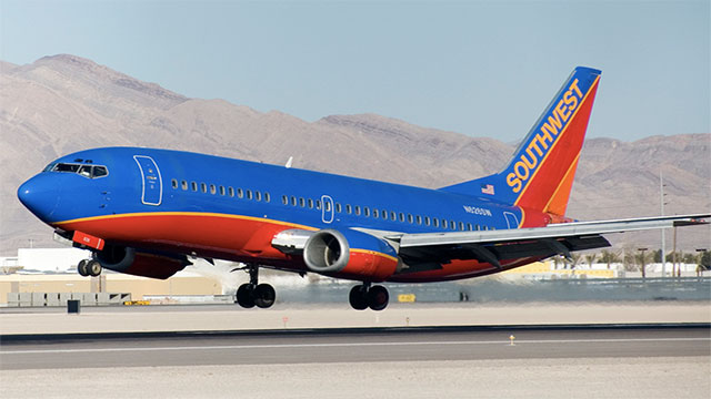On Southwest Airlines, overweight passengers who take up more than one seat must buy multiple tickets