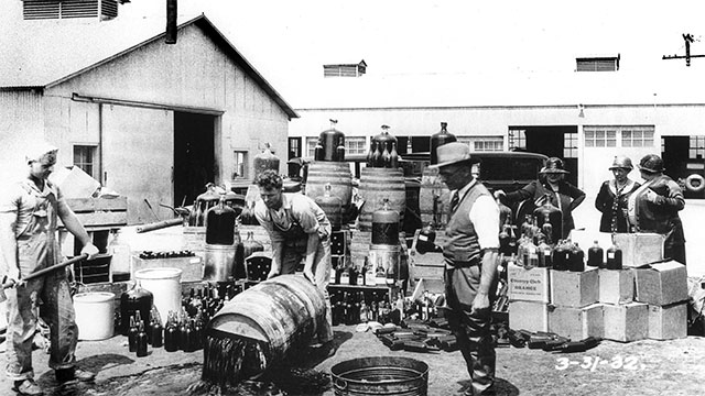 Woodrow Wilson vetoed the Volstead Act but Congress ended up passing it anyway. This signaled the start of the era of prohibition