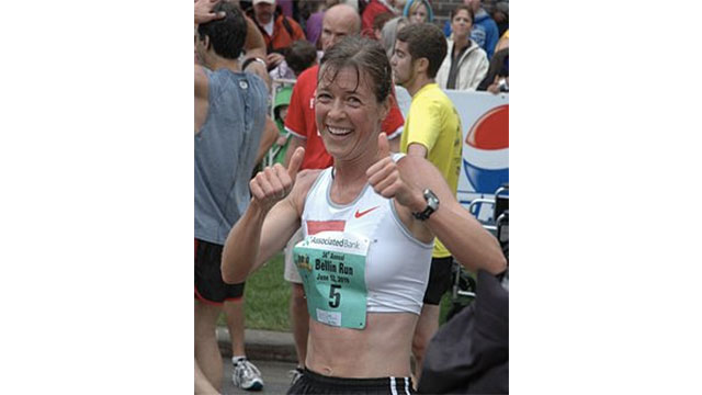 During the 1996 Boston Marathon Uta Pippig became the first woman to cross the finish line. Her run drew attention, however, because she had begun menstruating during the race