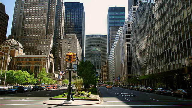 740 Park in Manhattan has the highest concentration of billionaires in the United States