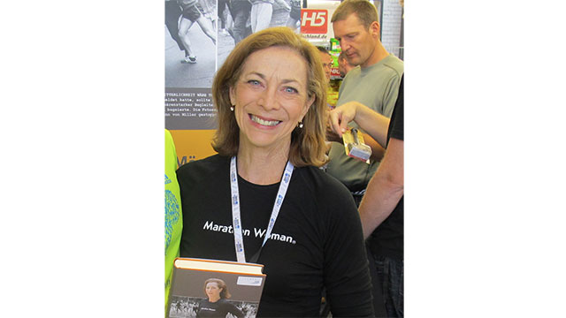 Kathrine Switzer was the first woman to run in the Boston Marathon in 1967. Officials, who hadn't initially realized that she was a woman, tried to remove her from the race