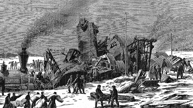 In 1886, several people were killed when a Texas train company performed a publicity stunt that involved crashing two trains into one another head on