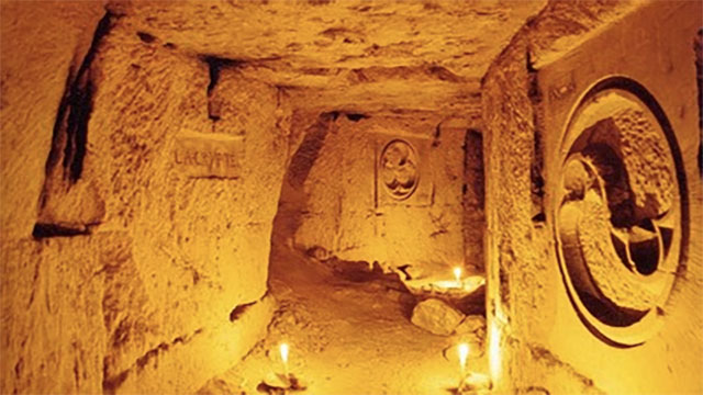 Philibert Aspairt was a hospital worker during the French Revolution who entered the Paris Catacombs, got lost, died, and was only found 11 years later