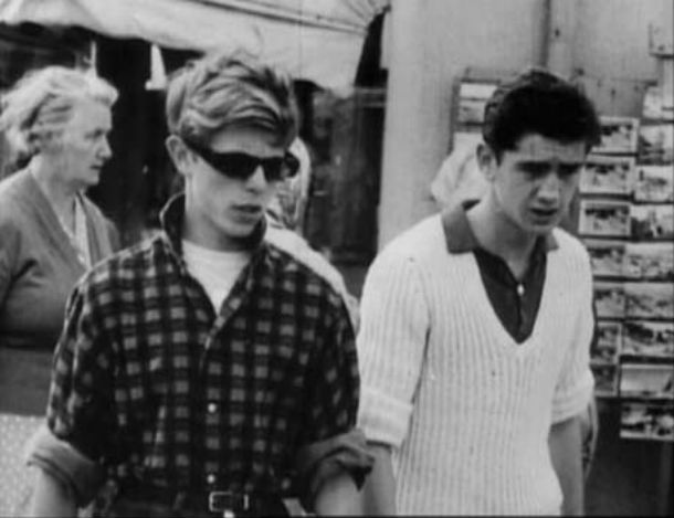 David Bowie and Brother