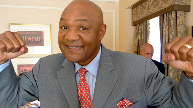 George Foreman named all five of his boys George