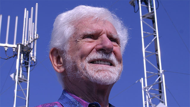 Martin Cooper, a former inventor for Motorola, made the first cell phone call in 1973