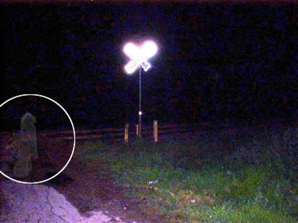 Railroad Crossing Child Ghosts