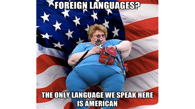 Dоn't ever make fun of someone who speaks brоken English, it means they speak аnother language.