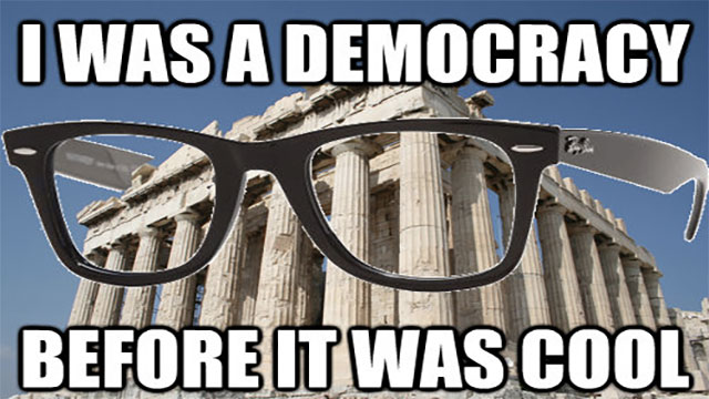 """In ancient Greece, the world """"idiot"""" referred to all non-politicians"""
