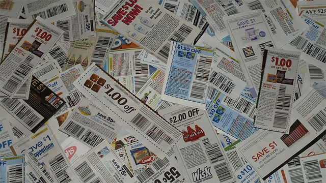 Using coupons