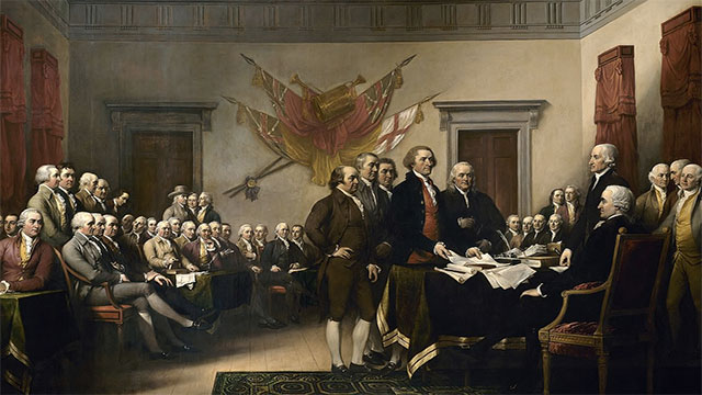 Thomas Jefferson was such a prankster that the Declaration of Independence had to be proofread to make sure he didn't write anything silly