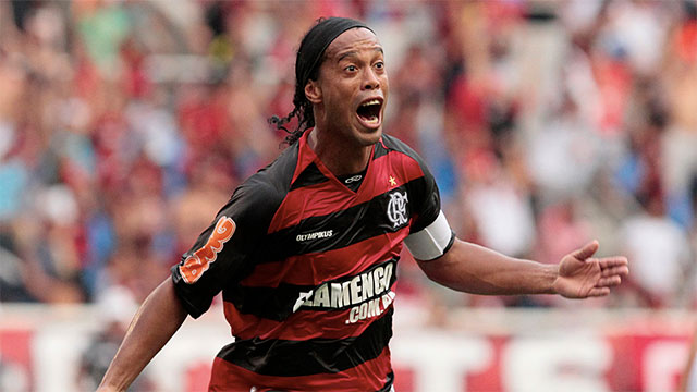 Coca Cola ended its deal with Ronaldinho when he was caught sipping a Pepsi
