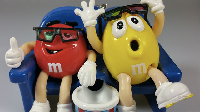 M&M stands for Mars and Murrie's, which are the founder's last names.
