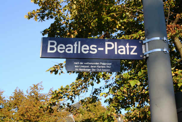 Beatles sign