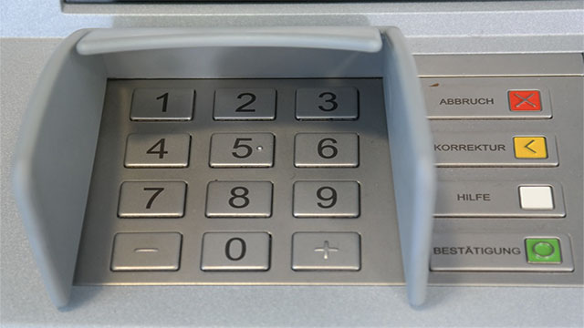 Typing your pin number into an ATM backwards notifies the police