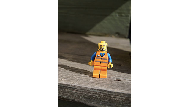 The little holes in the heads of the Lego people are there so that if a child swallows one, they can still breathe