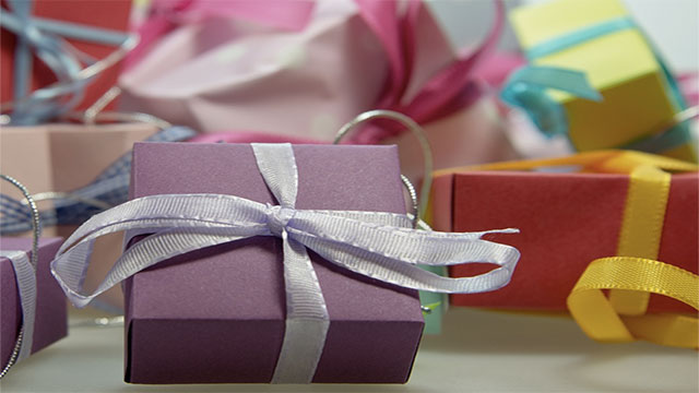 Not declining gifts