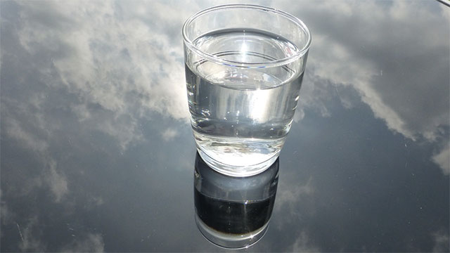 How many people has the water you just drank been through?