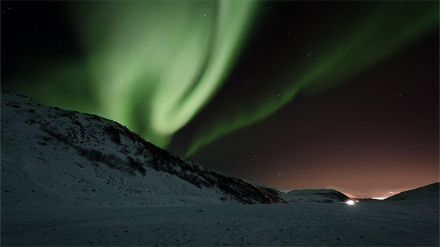 The same particles that are responsible for creating the northern lights also cause clapping sounds to be heard. These sounds have led to numerous folk tales and legends