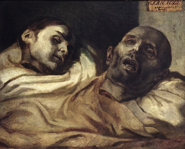 study of the heads of torture victims gericault