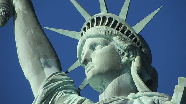 There is a replica of the Statue of Liberty in Rio de Janeiro