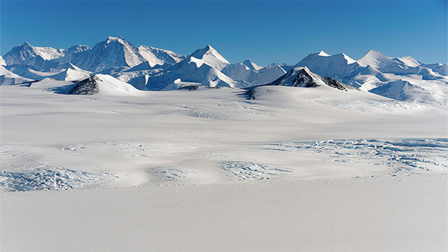 The largest desert in the world is actually Antarctica