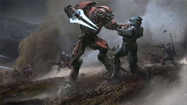 The original Halo video game was a third person shooter for the Mac. At least until Microsoft bought Bungie and released the game on Xbox instead.