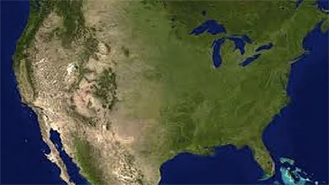 The Sahara Desert stretches farther than the distance between Los Angeles and New York City