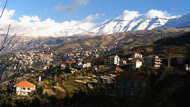 Lebanon is the only country in the Middle East that doesn't contain a desert