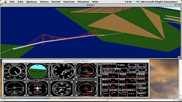 Microsoft Flight Simulator is the company's longest running product. It precedes Windows by 3 years!