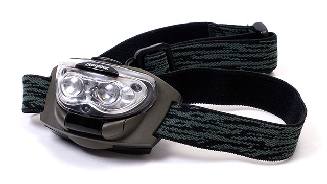 Get a headlamp in white/yellow and red. The red is great at night. It allows you to see without waking people up. It also lets you keep your night vision.