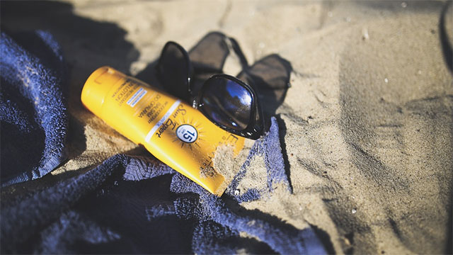 Choose a sunscreen that protects against both UVA and UVB rays