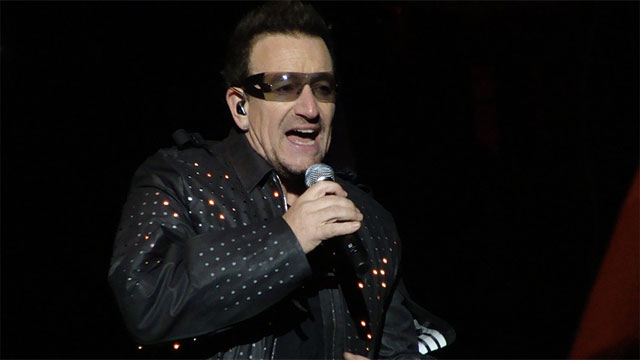 Bono wears glasses because he has glaucoma, not just as a fashion statement