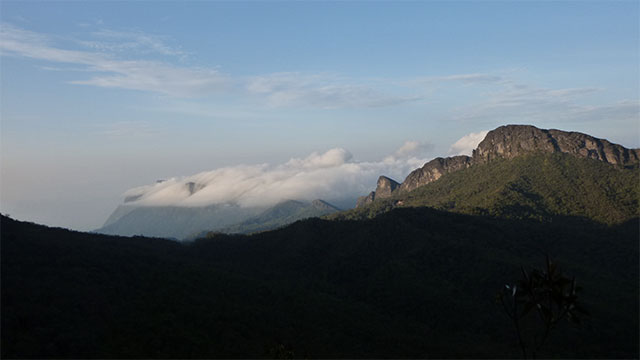 The highest mountain in Brazil is Pico da Neblina (Mist Peak). Because it was almost permanently covered in clouds (hence the name) it wasn't discovered until the mid 20th century.