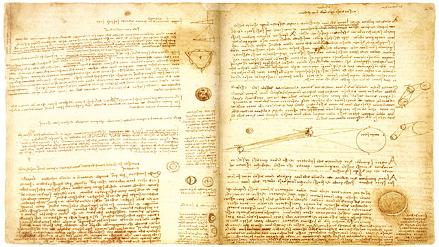 Bill Gates bought the Da Vinci Codex for $30 million. He then had the pages scanned and released as screen savers for Windows 95