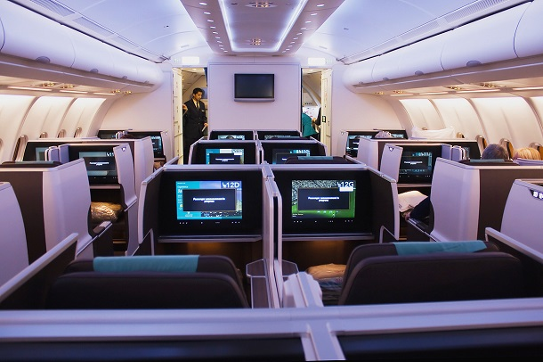 Business_class_cabin_on_Oman_Air_Airbus_A330-300