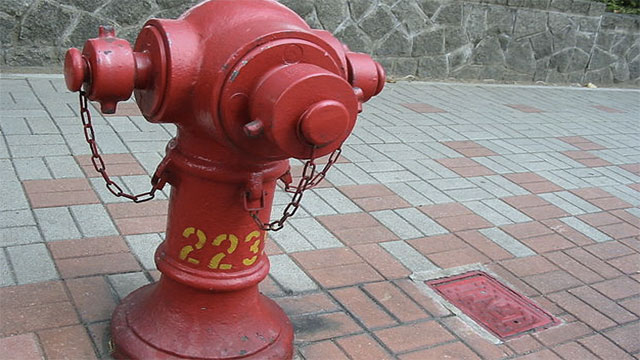 Fire hydrant colors can be used to determine their water flow and pressure
