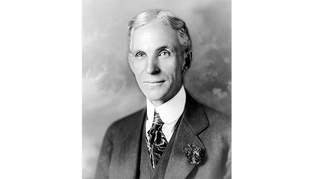 In 1941, Henry Ford made a car out of hemp and soybean plastic that ran on ethanol